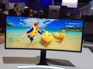Samsung curved monitor