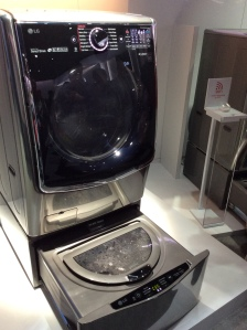 Washer-in-washer is a good idea