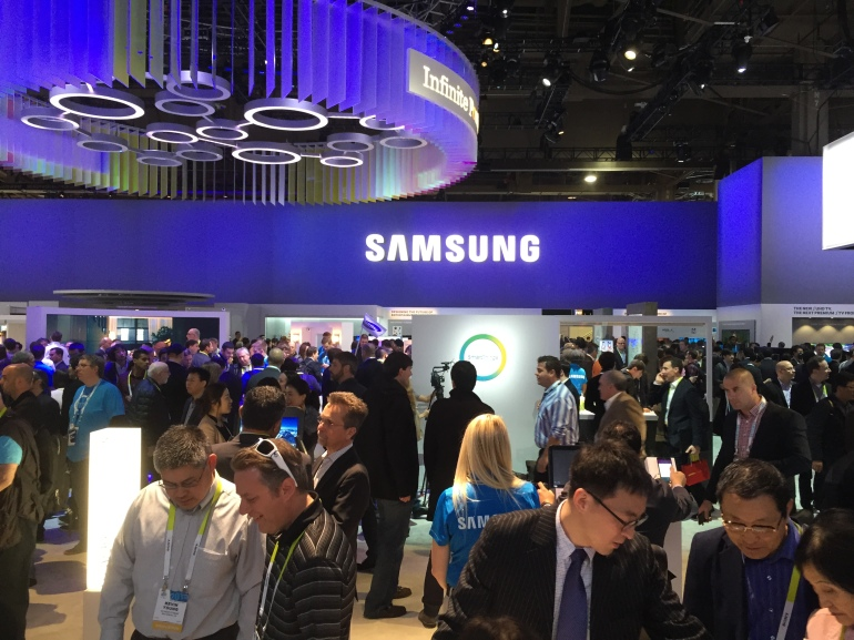 Samsung at CES 2015